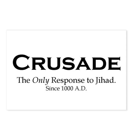 Crusades Postcards (Package of 8)