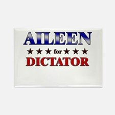 AILEEN for dictator Rectangle Magnet