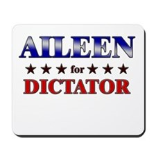 AILEEN for dictator Mousepad