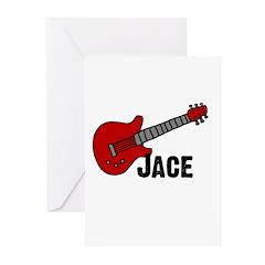 Guitar - Jace Greeting Cards (Pk of 20)