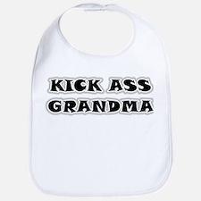 Kick Ass Grandma Bib