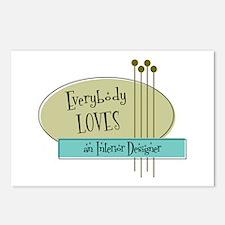 Everybody Loves an Interior Designer Postcards (Pa