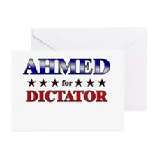AHMED for dictator Greeting Cards (Pk of 10)