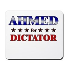 AHMED for dictator Mousepad