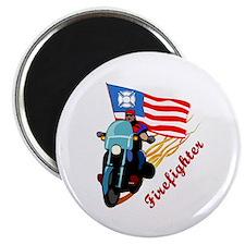 "Firefighter Bikers 2.25"" Magnet (100 pack)"
