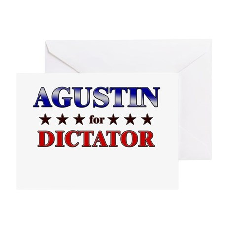 AGUSTIN for dictator Greeting Cards (Pk of 20)