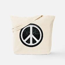 Original Vintage Peace Sign Tote Bag