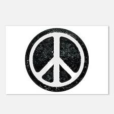 Original Vintage Peace Sign Postcards (Package of
