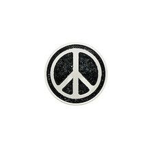 Original Vintage Peace Sign Mini Button (10 pack)