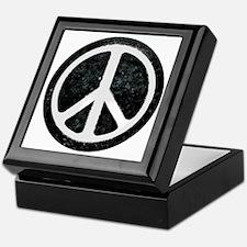 Original Vintage Peace Sign Keepsake Box