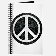Original Vintage Peace Sign Journal
