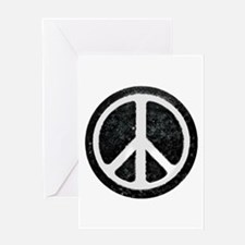 Original Vintage Peace Sign Greeting Card