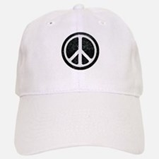 Original Vintage Peace Sign Baseball Baseball Cap
