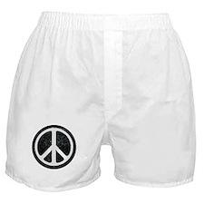 Original Vintage Peace Sign Boxer Shorts
