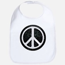 Original Vintage Peace Sign Bib