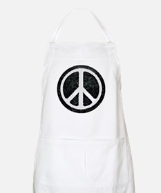 Original Vintage Peace Sign BBQ Apron