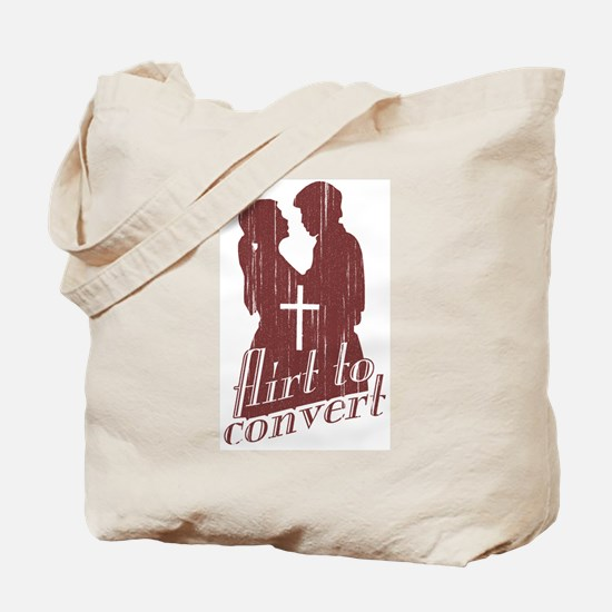 Flirt to Convert Tote Bag