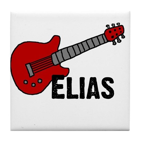 Guitar - Elias Tile Coaster