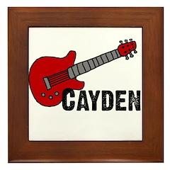 Guitar - Cayden Framed Tile