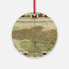 Oakland Ornament (Round)