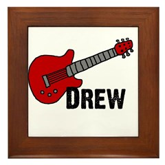Guitar - Drew Framed Tile