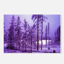 Cool Colorado christmas Postcards (Package of 8)