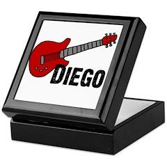 Guitar - Diego Keepsake Box