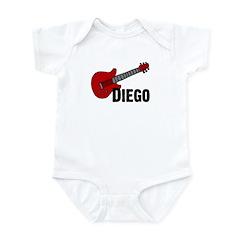 Guitar - Diego Infant Bodysuit