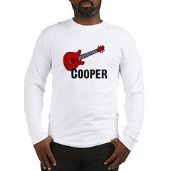Guitar - Cooper Long Sleeve T-Shirt