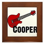 Guitar - Cooper Framed Tile
