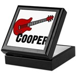 Guitar - Cooper Keepsake Box