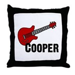 Guitar - Cooper Throw Pillow