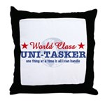 World Class Uni-Tasker Throw Pillow