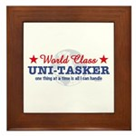World Class Uni-Tasker Framed Tile