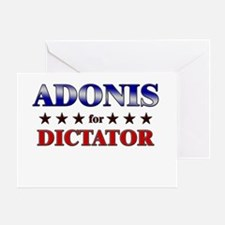 ADONIS for dictator Greeting Card
