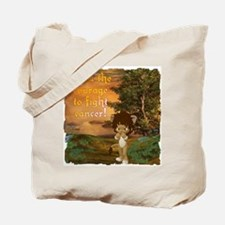 Courage To Fight Cancer Tote Bag