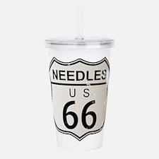 Needles Route 66 Acrylic Double-wall Tumbler