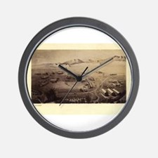 Fort Collins Wall Clock