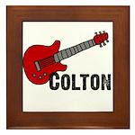Guitar - Colton Framed Tile