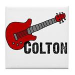 Guitar - Colton Tile Coaster