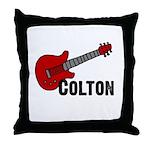 Guitar - Colton Throw Pillow