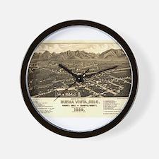 Buena Vista Wall Clock