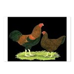 Partridge Chantecler Pair Postcards (Package of 8)