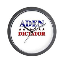 ADEN for dictator Wall Clock