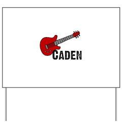 Guitar - Caden Yard Sign