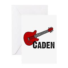 Guitar - Caden Greeting Card