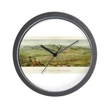 Pikes Peak Wall Clock