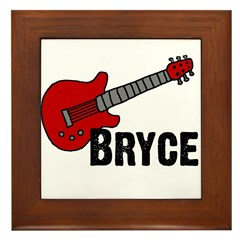 Guitar - Bryce Framed Tile