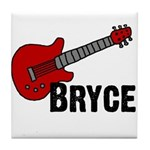 Guitar - Bryce Tile Coaster