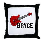 Guitar - Bryce Throw Pillow